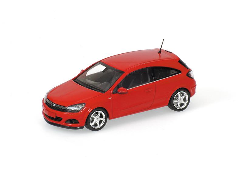 opel astra gtc 2005 red minichamps 400043021. Black Bedroom Furniture Sets. Home Design Ideas