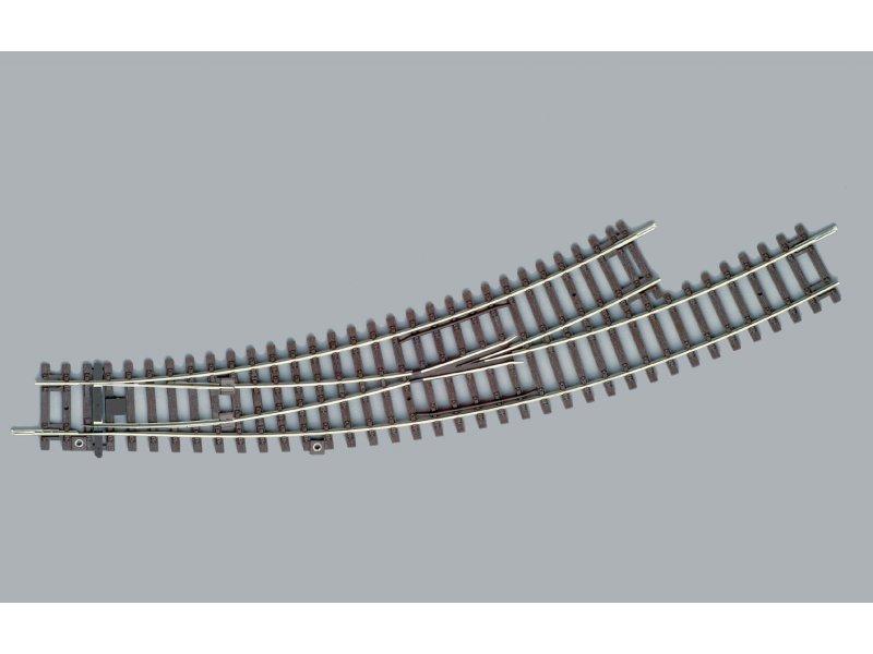 links BWL-R3 Piko 55227 Bogenweiche