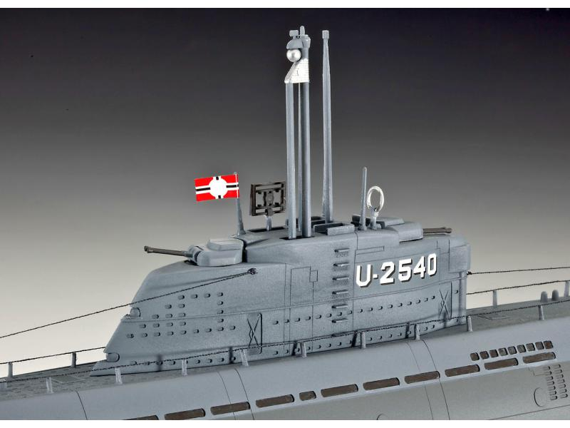 U boot typ xxi u 2540 innenei revell 05078 for Deutsches u boot typ xxi mit interieur