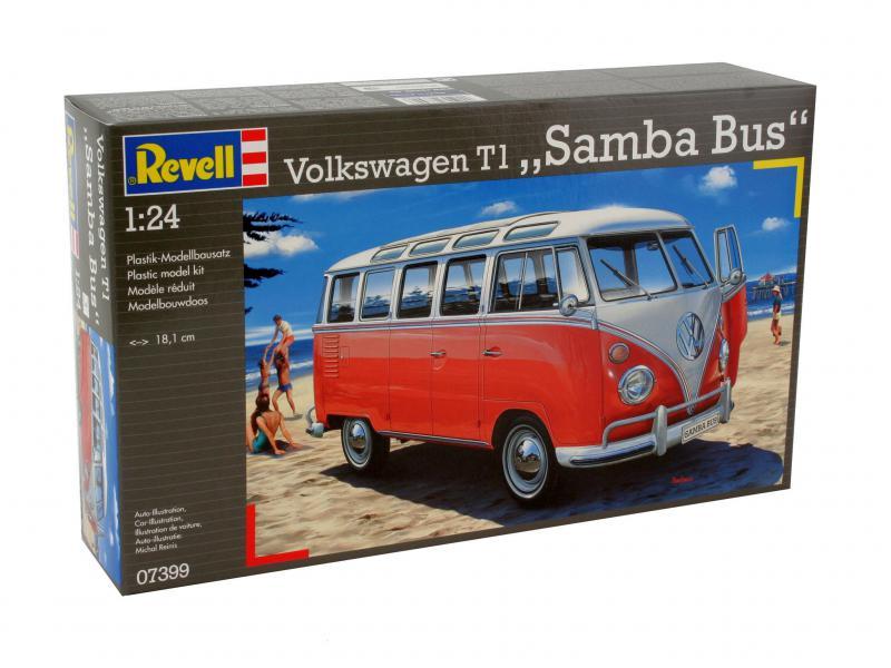 vw t1 samba bus revell 7399. Black Bedroom Furniture Sets. Home Design Ideas