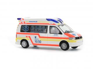 Ambulanz Mobile Hornis Baltic O-R-M-S Rettungsdienst Münchberg, 1:87