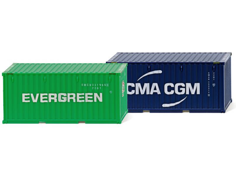 evergreen köln zubeh rpackung 20 containe neuheit wiking 001814